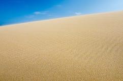 Duna de arena, fondo Fotos de archivo libres de regalías
