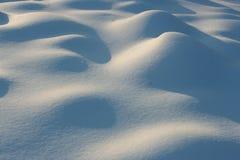 Duna de la nieve Imágenes de archivo libres de regalías