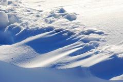 Duna de la nieve Fotos de archivo libres de regalías