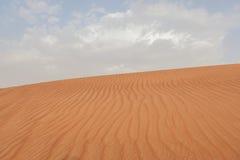 Duna del desierto de Dubai Imagen de archivo