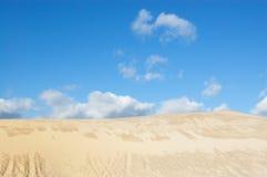 Duna del Sandy nel sobborgo della città Immagine Stock Libera da Diritti