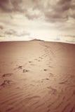 Duna di Pilat, la duna di sabbia più alta in Europa Fotografia Stock