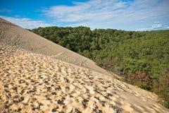 Duna di Pyla, il più alta duna di Europa Immagine Stock