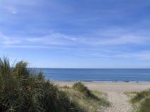Duna di sabbia dell'incrocio del percorso Fotografia Stock Libera da Diritti
