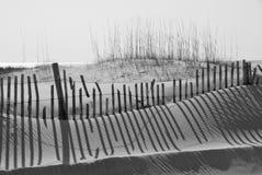 Duna di sabbia della spiaggia Fotografie Stock Libere da Diritti