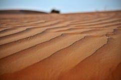 Duna di sabbia in Doubai, Emirati Arabi Uniti Immagine Stock Libera da Diritti