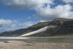 Duna di sabbia gigante Fotografia Stock