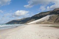 Duna di sabbia gigante Immagini Stock Libere da Diritti