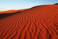 Duna en desierto Imagenes de archivo