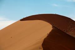 Duna nel deserto Fotografie Stock