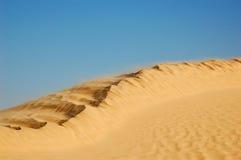 Duna no deserto de Sahara Foto de Stock Royalty Free