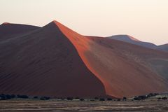 Duna 45, parco nazionale di Namib Naukluft, Namibia immagini stock libere da diritti