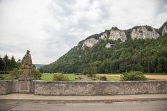 Dunabe谷,德国 库存照片