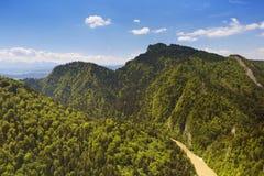 The Dunajec Canyon between Poland and Slovakia Royalty Free Stock Photo