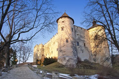 Dunajec Castle. Also known as Niedzica Castle is the most enigmatic castle in Europe. The ghosts dwell at its walls. It was erected between the years 1320 and Stock Images
