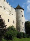 Dunajec kasztel w Niedzica Polska obraz royalty free