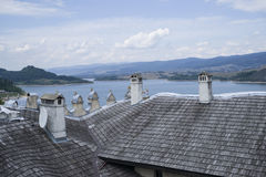 Dunajec river Royalty Free Stock Photos