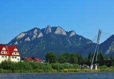 Dunajec river Royalty Free Stock Image