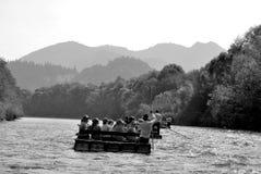 Dunajec river Stock Images