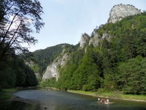 Dunajec river, Slovakia royalty free stock photography