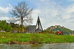 Dunajec river. Stock Photo