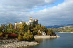 Dunajec Schloss Stockfoto