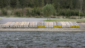 Dunajec-Schlucht Lizenzfreie Stockfotografie
