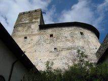 Dunajeckasteel in Niedzica Polen Royalty-vrije Stock Afbeeldingen