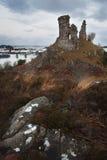 Dunakin Castle, Kyleakin Stock Images