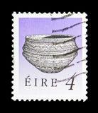 Dunamase食物船(早青铜时代),爱尔兰遗产和Trea 免版税图库摄影