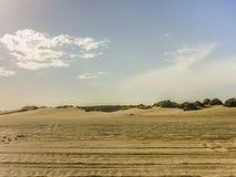 Dunas da praia de Carilo Fotos de Stock