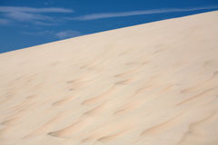 Dunas de areia fotos de stock royalty free