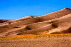 Dunas de areia Imagens de Stock Royalty Free