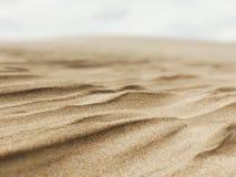 Dunas de areia da praia de Pismo, Califórnia foto de stock
