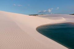 Dunas de areia de Brasil Fotografia de Stock
