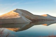 Dunas de areia de Bruneau Fotografia de Stock