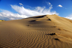 Dunas de areia de Bruneau Imagens de Stock