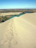 Dunas de areia de Bruneau de Idaho Imagem de Stock Royalty Free
