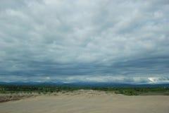 Dunas de areia de Ilocos Fotografia de Stock Royalty Free