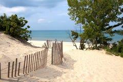 Dunas de areia de Indiana foto de stock royalty free