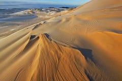 Dunas de areia de prata do lago imagens de stock royalty free