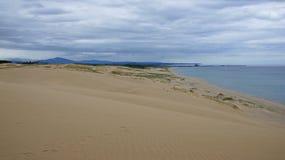 Dunas de areia de Tottori em Japão fotografia de stock royalty free