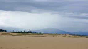 Dunas de areia de Tottori em Japão imagem de stock