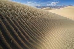 Dunas de areia Death Valley Fotos de Stock Royalty Free