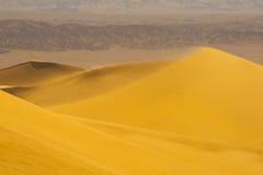 Dunas de areia do deserto Imagens de Stock