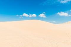Dunas de areia do deserto Foto de Stock