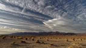 Dunas de areia do Mesquite em Death Valley imagens de stock