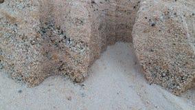Dunas de areia douradas bonitas no rio da lua fotografia de stock