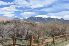 Dunas de areia em Colorado Foto de Stock Royalty Free
