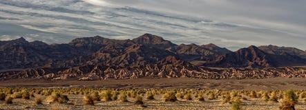 Dunas de areia em Death Valley foto de stock